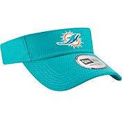 New Era Men's Miami Dolphins 2017 Training Camp Aqua Adjustable Visor