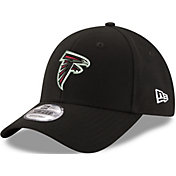New Era Men's Atlanta Falcons Cap Machine 9Forty Adjustable Black Hat