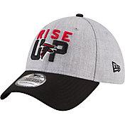New Era Men's Atlanta Falcons 2018 NFL Draft 39Thirty Stretch Fit Grey Hat