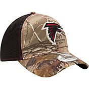 New Era Men's Atlanta Falcons Real Tree Neo 39Thirty Camouflage Stretch Fit Hat