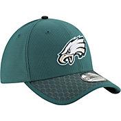 New Era Men's Philadelphia Eagles Sideline 2017 On-Field 39Thirty Flex Hat