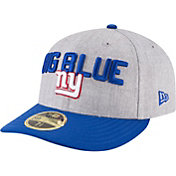 New Era Men's New York Giants 2018 NFL Draft 59Fifty Fitted Grey Hat