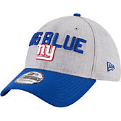 New Era Men's New York Giants 2018 NFL Draft 39Thirty Stretch Fit Grey Hat