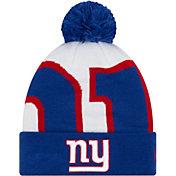 New Era Men's New York Giants Logo Whiz Cuffed Knit Hat