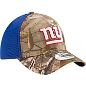 New Era Men's New York Giants Real Tree Neo 39Thirty Camouflage Flex Hat