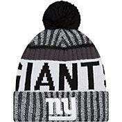 New Era Men's New York Giants Sideline 2017 White Sport Knit