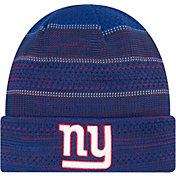 New Era Men's New York Giants Sideline 2017 On-Field TD Knit Hat