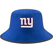 New Era Men's New York Giants 2017 Training Camp Blue Bucket Hat