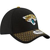 New Era Men's Jacksonville Jaguars Sideline 2017 On-Field 39Thirty Flex Hat