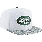 New Era Men's New York Jets Sideline 2017 On-Field 9Fifty Snapback Adjustable Hat