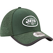 New Era Men's New York Jets 2017 Training Camp 39Thirty Green Flex Hat