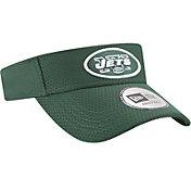 New Era Men's New York Jets 2017 Training Camp Green Adjustable Visor