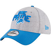 New Era Men's Detroit Lions 2018 NFL Draft 39Thirty Stretch Fit Grey Hat