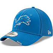 New Era Men's Detroit Lions 39Thirty Neoflex Blue Stretch Fit Hat