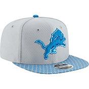 New Era Men's Detroit Lions Sideline 2017 On-Field 9Fifty Snapback Adjustable Hat