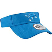 New Era Men's Detroit Lions 2017 Training Camp Blue Adjustable Visor