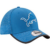 New Era Men's Detroit Lions 2017 Training Camp 39Thirty Blue Flex Hat
