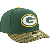New Era Men's Green Bay Packers Sideline 2017 On-Field 59Fifty Fitted Hat