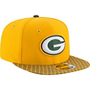 New Era Men's Green Bay Packers Sideline 2017 On-Field 9Fifty Snapback Adjustable Hat