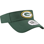 New Era Men's Green Bay Packers 2017 Training Camp Green Adjustable Visor