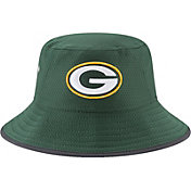 New Era Men's Green Bay Packers 2017 Training Camp Green Bucket Hat