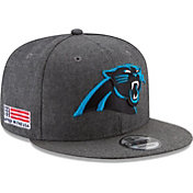 New Era Men's Carolina Panthers Crafted in the USA Grey 9Fifty Adjustable Hat