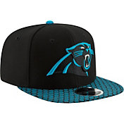 New Era Men's Carolina Panthers Sideline 2017 On-Field 9Fifty Snapback Adjustable Hat