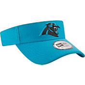 New Era Men's Carolina Panthers 2017 Training Camp Blue Adjustable Visor