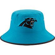 New Era Men's Carolina Panthers 2017 Training Camp Blue Bucket Hat
