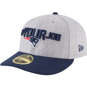 New Era Men's New England Patriots 2018 NFL Draft 59Fifty Fitted Grey Hat