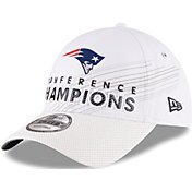 New Era Men's AFC Champions New England Patriots Locker Room 9Forty Adjustable Hat