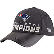 New Era Men's Super Bowl LI Champions New England Patriots Locker Room 9Forty Adjustable Hat