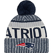 New Era Men's New England Patriots Sideline 2017 Sport Knit