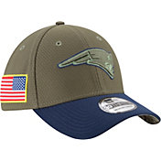 New Era Men's New England Patriots Salute to Service 2017 39Thirty Stretch Fit Hat