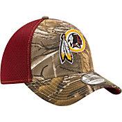 New Era Men's Washington Redskins Real Tree Neo 39Thirty Camouflage Flex Hat
