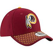 New Era Men's Washington Redskins Sideline 2017 On-Field 39Thirty Stretch Fit Hat