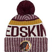 New Era Men's Washington Redskins Sideline 2017 Throwback Sport Knit
