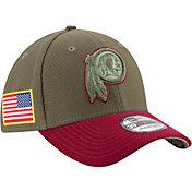 New Era Men's Washington Redskins Salute to Service 2017 39Thirty Stretch Fit Hat
