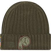 New Era Men's Washington Redskins Salute to Service 2017 Knit Hat