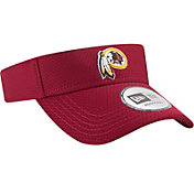 New Era Men's Washington Redskins 2017 Training Camp Red Adjustable Visor