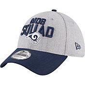 New Era Men's Los Angeles Rams 2018 NFL Draft 39Thirty Stretch Fit Grey Hat