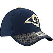 New Era Men's Los Angeles Rams Sideline 2017 On-Field 39Thirty Flex Hat