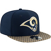 New Era Men's Los Angeles Rams Sideline 2017 On-Field 9Fifty Snapback Adjustable Hat