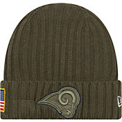 New Era Men's Los Angeles Rams Salute to Service 2017 Knit Hat