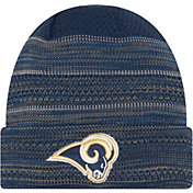 New Era Men's Los Angeles Rams Sideline 2017 On-Field TD Knit Hat
