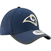 New Era Men's Los Angeles Rams 2017 Training Camp 39Thirty Navy Stretch Fit Hat