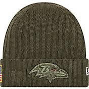 New Era Men's Baltimore Ravens Salute to Service 2017 Knit Hat
