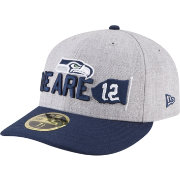 New Era Men's Seattle Seahawks 2018 NFL Draft 59Fifty Fitted Grey Hat