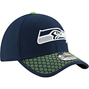 New Era Men's Seattle Seahawks Sideline 2017 On-Field 39Thirty Flex Hat