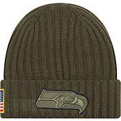 New Era Men's Seattle Seahawks Salute to Service 2017 Knit Hat